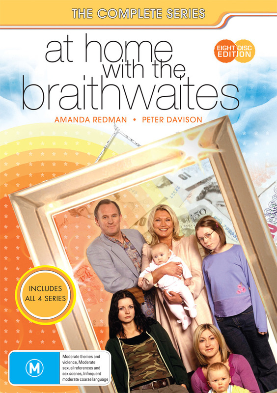 At Home With The Braithwaites - The Complete Series (8 Disc Box Set) on DVD