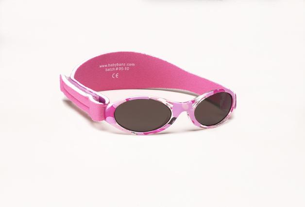 Banz Adventure Sunglasses - Camo Pink