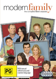 Modern Family: Series 1 (4 Disc Set) on DVD