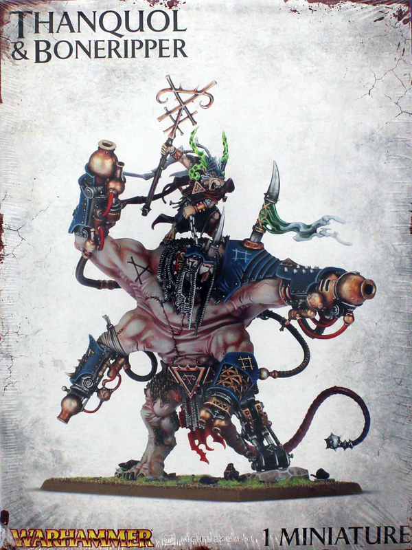 Warhammer Skaven Thanquol & Boneripper | at Mighty Ape ...