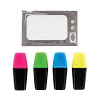 TV Highlighters Desk Set image