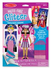 Melissa & Doug: Mess Free Glitter - Fancy Party Fashions