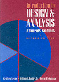 Introduction to Design and Analysis by Geoffrey Keppel