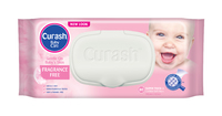 Curash Fragrance Free Wipes 80's