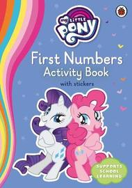 My Little Pony First Numbers Activity Book by Ladybird