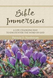 Bible Immersion by Patricia D. Nordstrom image