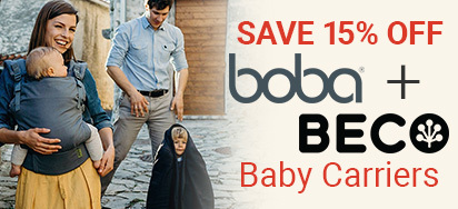 15% off Boba & Beco!