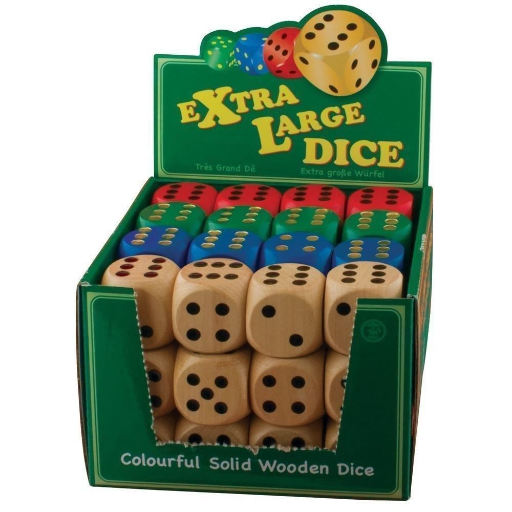 Tobar: Extra-Large Dice - (Assorted Colours) image