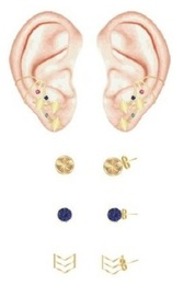 Marvel: Captain Marvel Earrings (3 Pack)