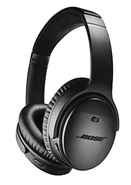 Bose QuietComfort QC35-II Wireless Noise Cancelling Over-Ear Headphones - Black