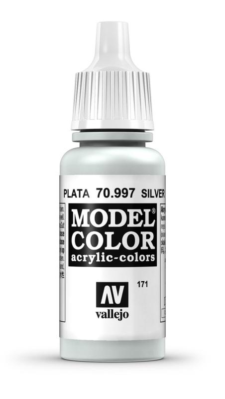Vallejo Model Colour Silver 17ml