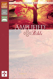 Amplified Bible by Zondervan image