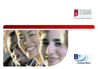 ICAEW - Financial Accounting: Passcards by BPP Learning Media image