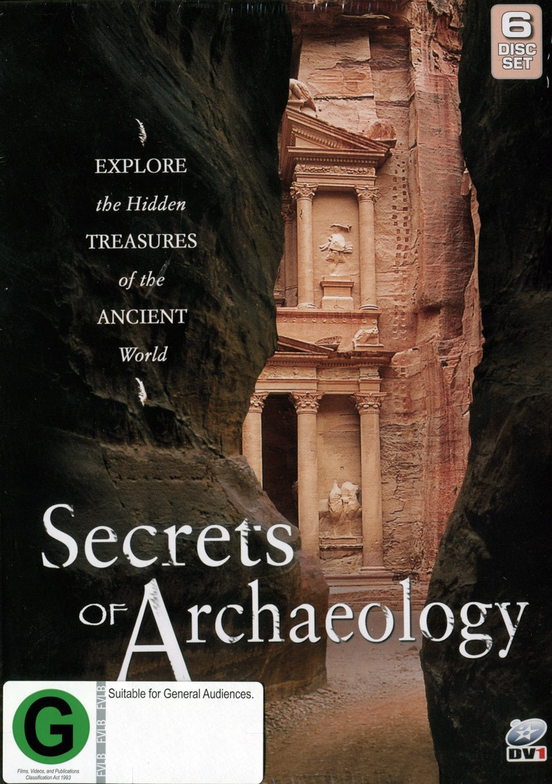 Secrets Of Archaeology (6 Disc Box Set) on DVD image