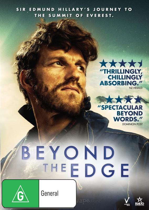 Beyond the Edge on DVD