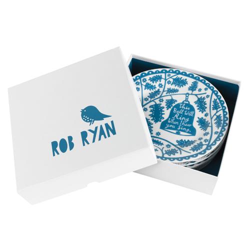 "Rob Ryan 8"" Dinner Plate Set - Bells"
