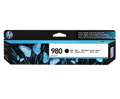 HP 980 Black Original Ink Cartridge D8J10A