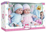 Doll - Gift Set Double Soft Body Boy