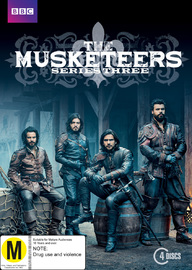 The Musketeers - The Complete Series 3 on DVD image