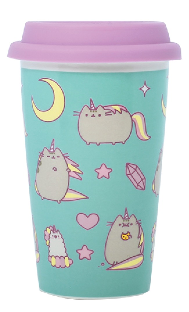 Pusheen: Pusheenicorn Pattern - Ceramic Travel Mug image