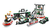 LEGO Speed Champions - Mercedes Amg Petronas Formula One Team (75883) image