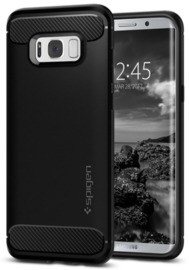 Spigen Galaxy S8+ Rugged Armor Case Black