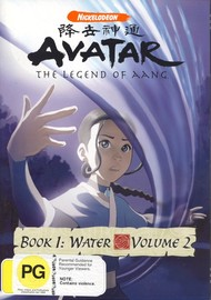 Avatar: The Legend of Aang - Book 1: Water - Volume 2 on DVD image