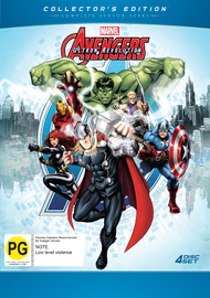 Avengers Assemble - Season 3 Collector's Edition on DVD
