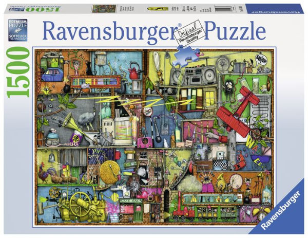 Ravensburger : Cling, Clang, Clatter! Puzzle 1500pc