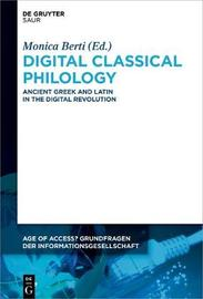 Digital Classical Philology
