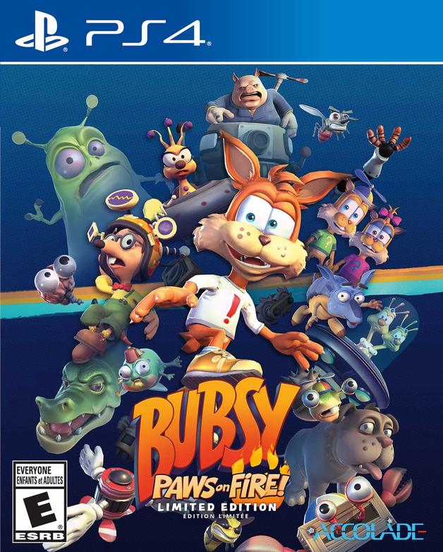 Bubsy Paws on Fire! Limited Edition for PS4