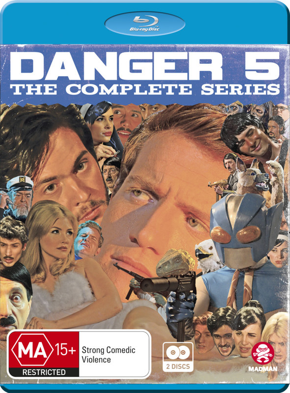 Danger 5: Series 1 & 2 on Blu-ray