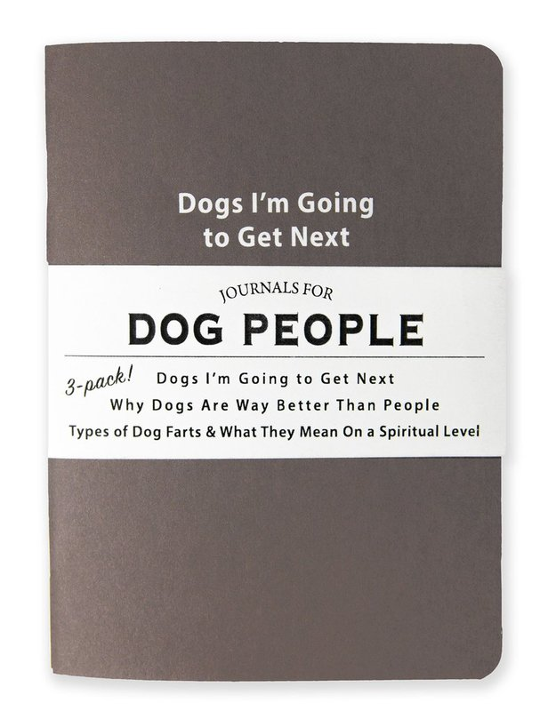 Whiskey River Co: 3 Piece Journal Set - Journals For Dog People