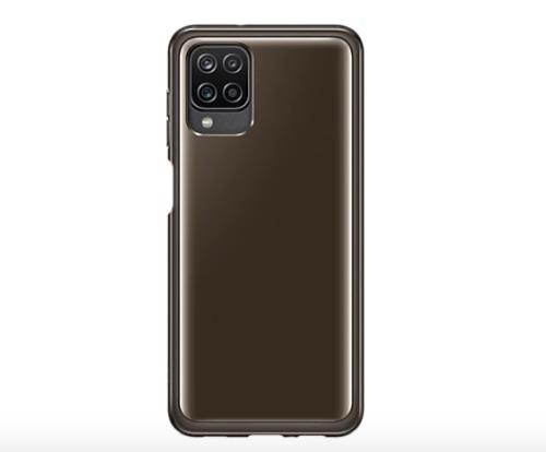 Samsung A12 Soft Cover Transparent Black