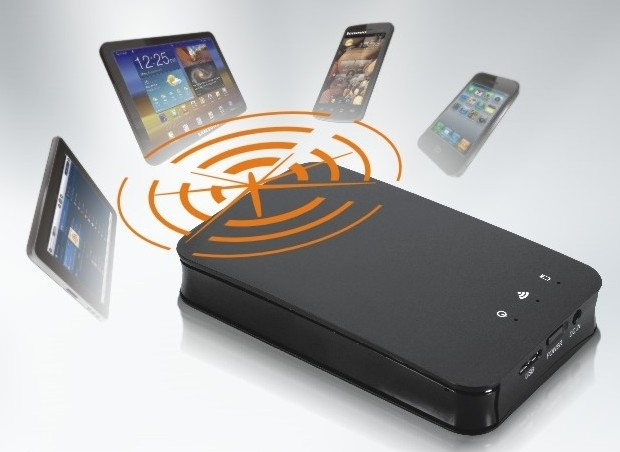 8ware 2.5'' HDD/SSD Wireless Enclosure