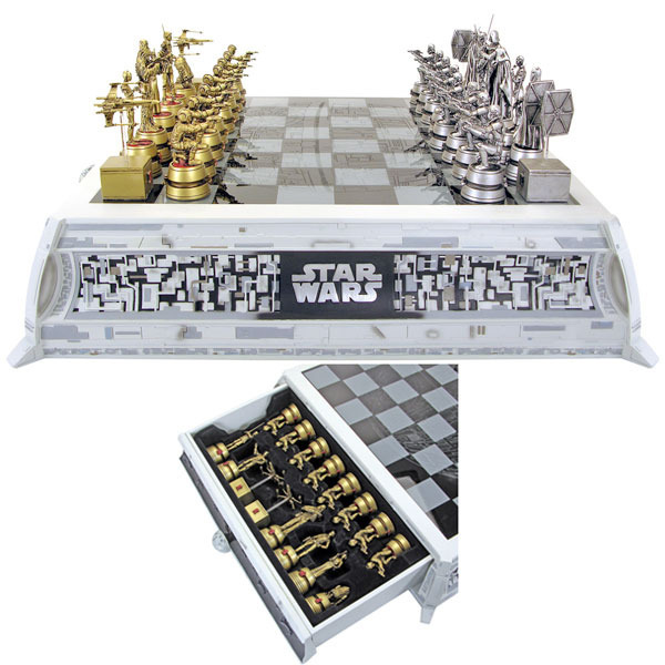 Star Wars Pewter Chess Set | at Mighty Ape Australia