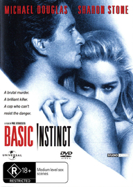 Basic Instinct on DVD image