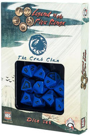 Legend of the 5 Rings Dice Set - Crab Clan