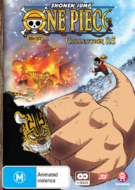 One Piece: Uncut - Collection 25 on DVD