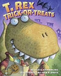 T. Rex Trick-or-Treats by Lois G Grambling image