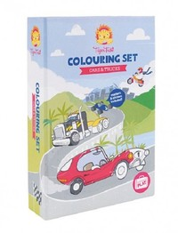 Tiger Tribe: Colouring Set Cars & Trucks