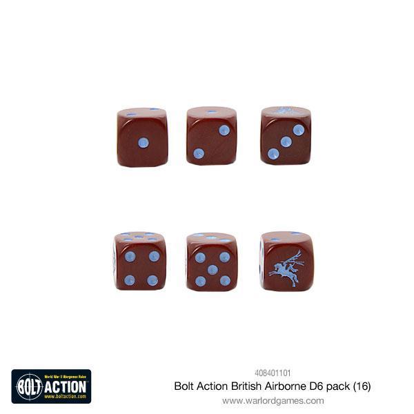 Bolt Action British Airborne D6 pack (16) image