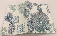 Journal : Handmade LG Embroidered - Peacock image