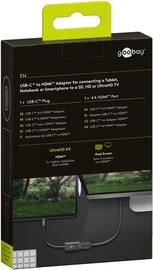 Goobay: USB-C to HDMI Adapter - Black