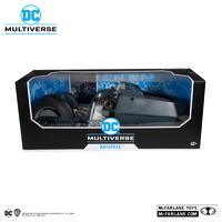 "DC Multiverse: White Knight Batcycle - 7"" Scale Vehicle"