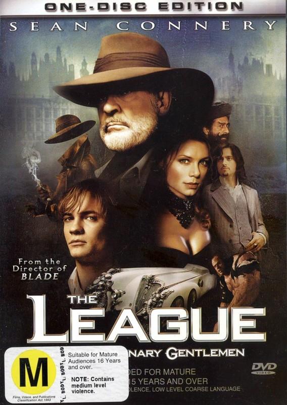 The League Of Extraordinary Gentlemen on DVD