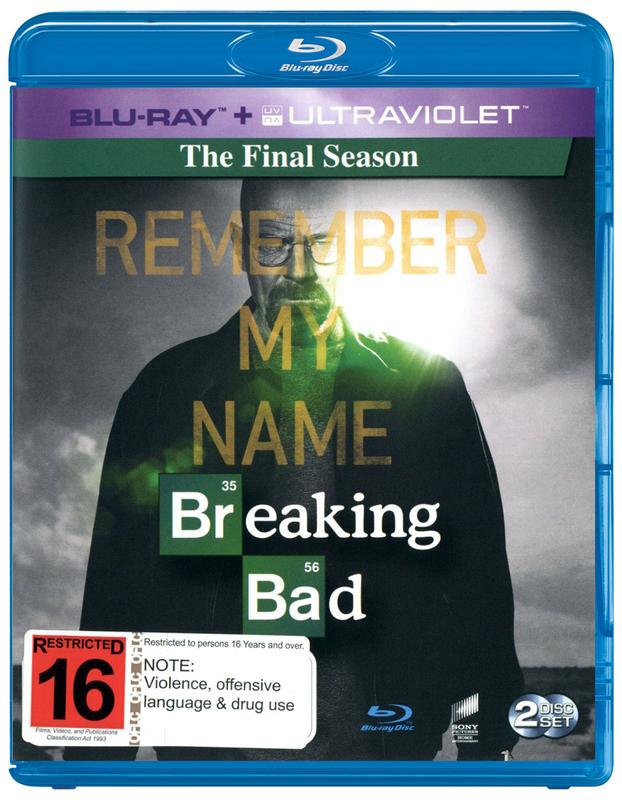 Breaking Bad - The Complete Final Season on Blu-ray