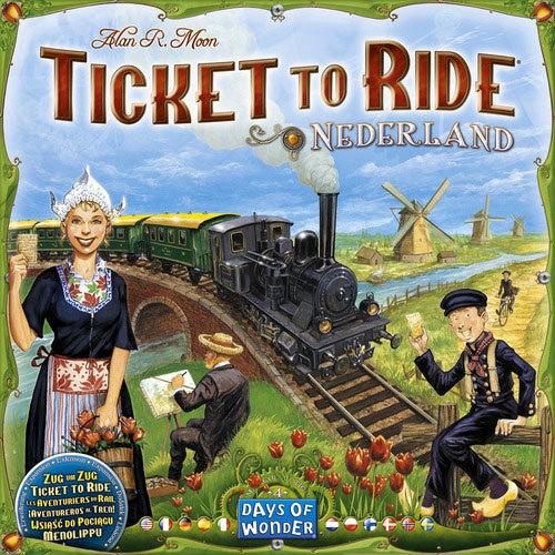 Ticket to Ride - Nederland Expansion