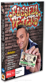 Russell Peters - Green Card Tour Live From O2 Arena on DVD