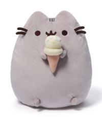 "Pusheen The Cat: Pusheen with Ice Cream - 9.5"" Plush"